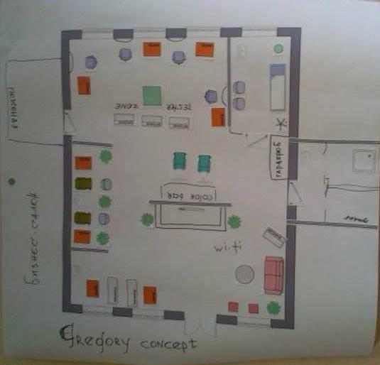 Схема салона №2