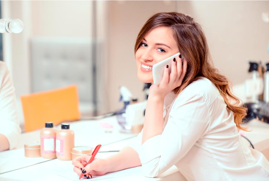 Правила телефонного этикета для администратора салона красоты