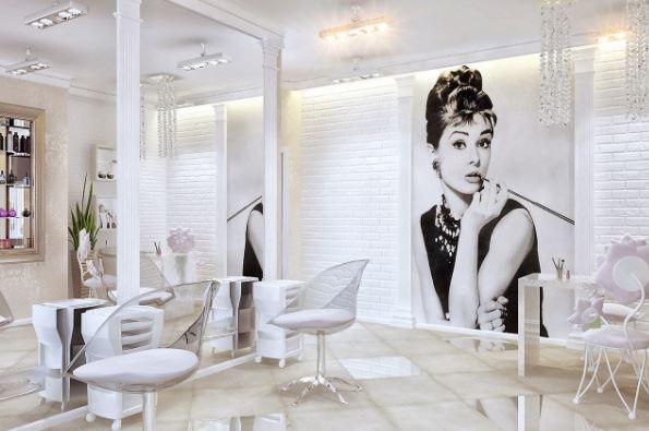Дизайн интерьера и оформление салона красоты с нуля